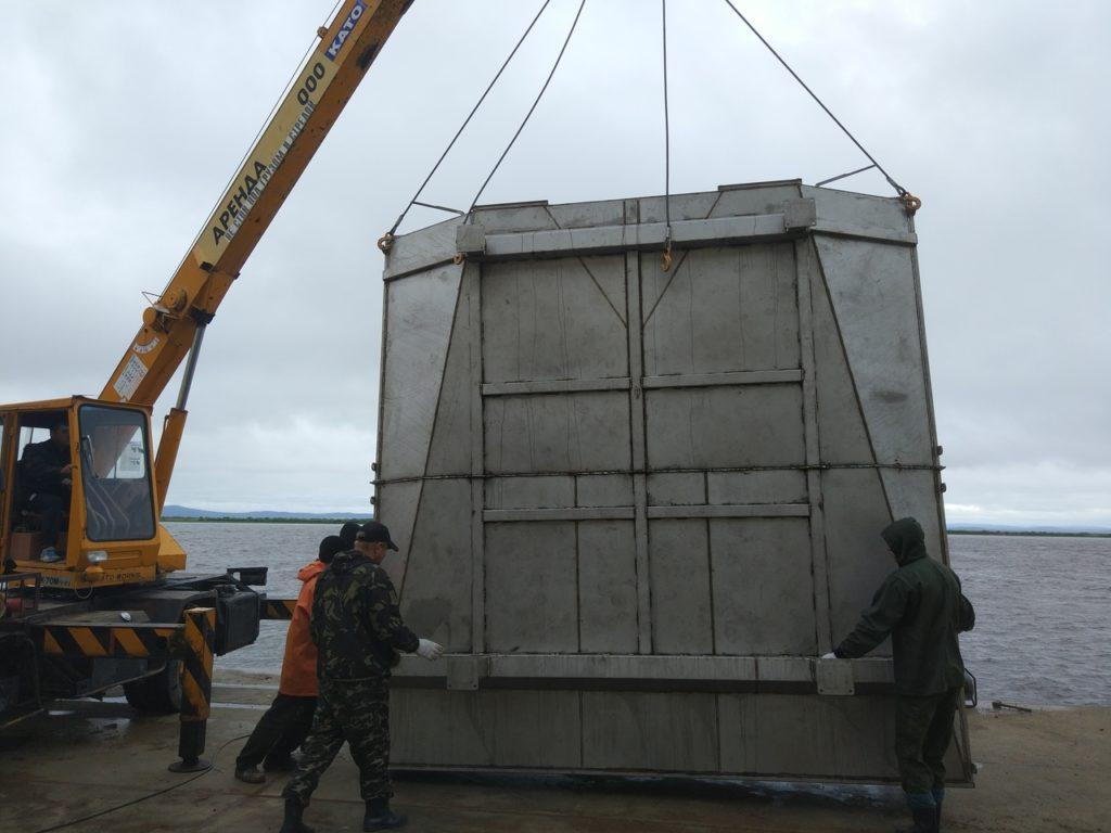 Изготовлено и смонтировано технологическое оборудование для цеха береговой переработки лосося