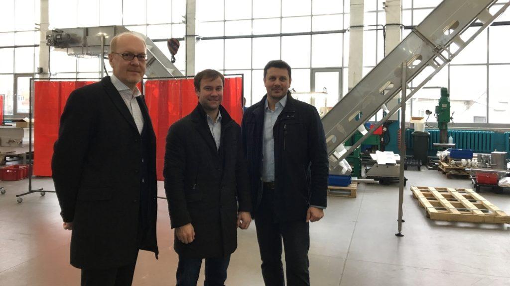 Встреча с представителями шведской компании Alfa Laval