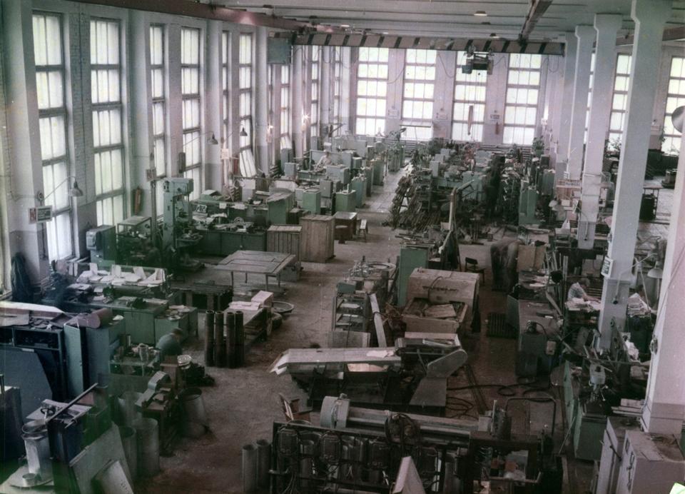 Дпльрыбтехцентр. Цех опытно-промышленных партий 1985 г.