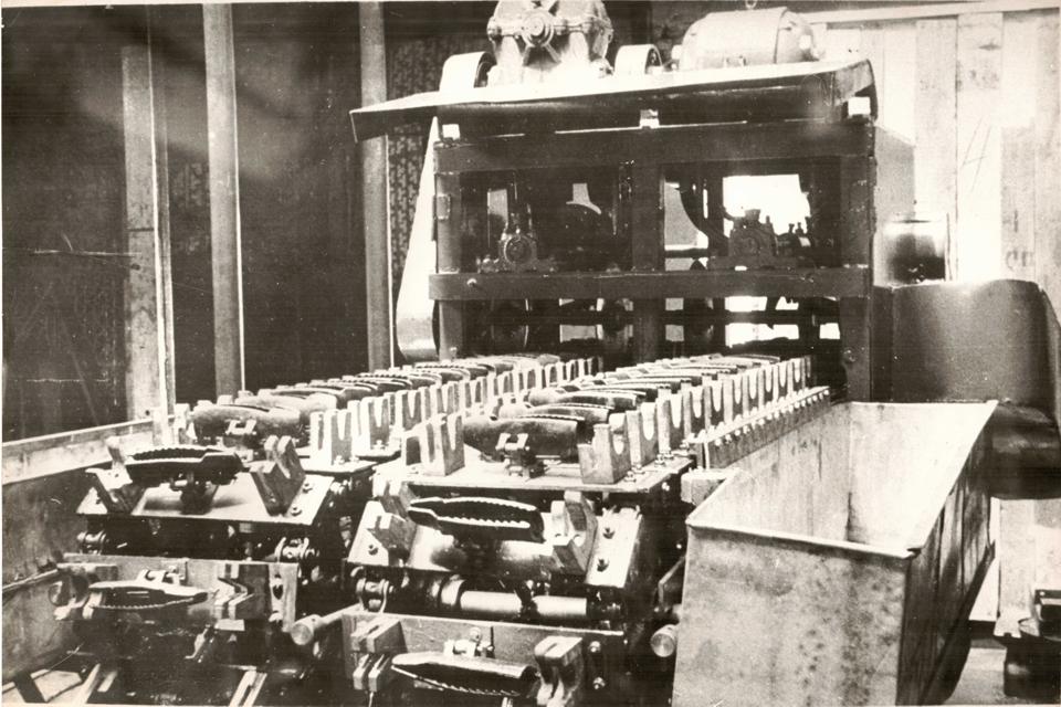 Машина для разделки рыбы 1973-1974