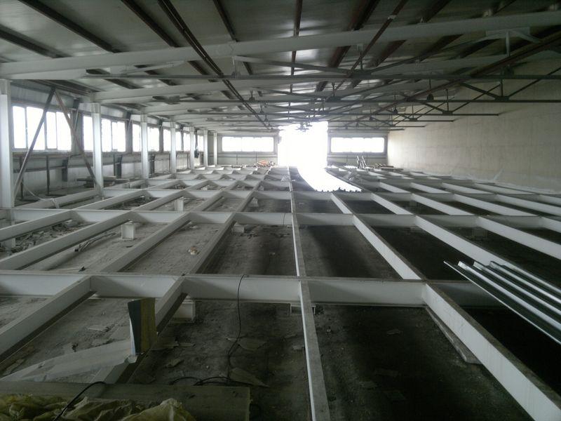 Строительство мансарды площадью 1 200 м2 здание по ул. Калинина, 42 литер 7